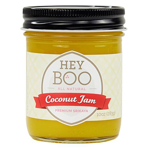 (Premium Coconut Jam - Delicious - No Corn Syrup - Dairy Free - Made in USA, 10 oz)
