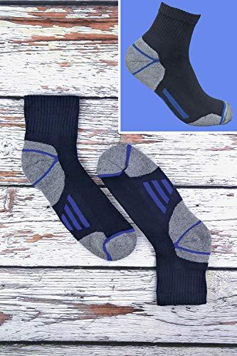 Sock Snob Chaussettes de travail à la cheville en coton rembourré ultime pour hommes pour bottes à bout en acier 3