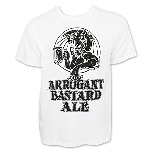Arrogant Bastard Men's T-Shirt Small White