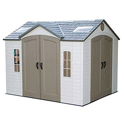 Dual Entry Storage Shed, 8u0027 X 10u0027