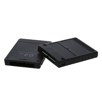 SODIAL(R)2 x 64MB Tarjeta de memoria flash para Playstaion 2 ...