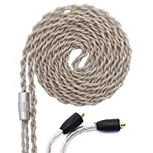 KINDEN Shure Earphone Replacement Cable Headphone DIY Cord for Shure SE215 SE425 SE535 SE846 UE900 Headphone Audio Cables