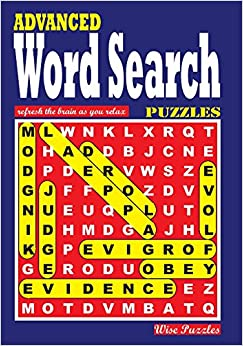 ADVANCED Word Search Puzzles: Volume 1