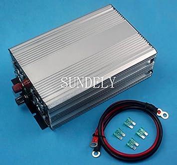 Wechselrichter 4000w Peak Modified Sine Wave Power Inverter Dc 12v To Ac 220v Car Caravan Rh
