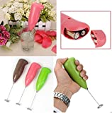 Celebrationgift Hongxin Electric Milk Frother Handheld Milk Wand Mixer Frother For Latte Coffee Hot Milk Hand Blender, Frother (Multicolor)