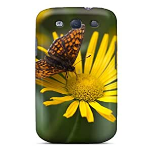 New Phonecaselyp Super Strong Butterfly Kiss Tpu Case Cover For Galaxy S3