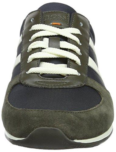 Boss Orange Orland_Runn_Nypl 10191238 01, Zapatillas para Hombre Verde (301)