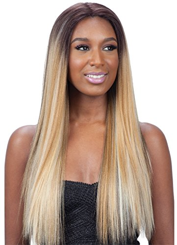 - ModelModel Synthetic Hair Lace Front Wig Premium Seven Star Sylvie (1B)