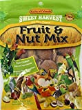Sweet Harvest Fruit & Nut Mix Treat, 4.0 Oz Bag - Real Fruit and Nuts for Birds - Cockatiels, Parrots, Macaws, Conures Larger Image