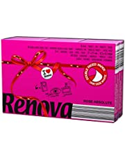 Renova zakdoeken, model Red Label, met rozengeur, kleur roze, 6 verpakkingen