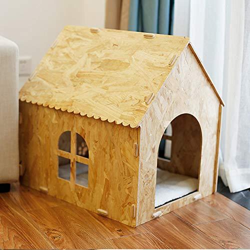 LOVEPET Arena para Gatos Desmontable Y Ensamblada. Casa De Gato Nido De Cachorros Nido para Mascotas Transpirable Respetuoso...