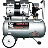 6.3 Gallon GMC SYCLONE 6310 Ultra Quiet and Oil-Free Air Compressor
