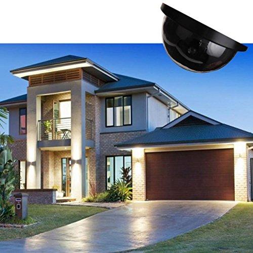 Dummy Camera CCTV Security Surveillance Dome Cam Fake IR LED