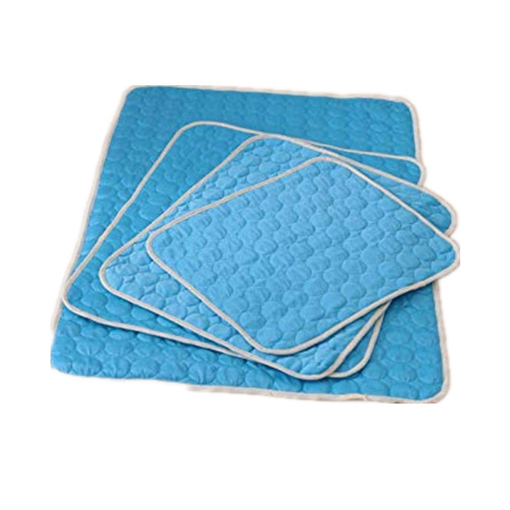 """Gaobey Pet Dog Self Cooling Mat Pad,Kennels Crates and Beds- Arf Pets (S,M,L,XL) (XL: 40.2""""x28.3"""", Blue)"""
