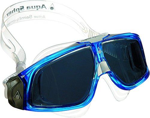 AQUA SPHERE Seal 2.0 Men's Mask, Tinted Lens/Deep Blue - Sphere 2