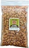 California Raw Almonds - 1 lb resealable bag