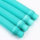 XtremepowerUS Pool Cleaner Hose Kreepy Krauly Baracuda Zodiac G3 G4 Hayward - Turquoise Blue (4)