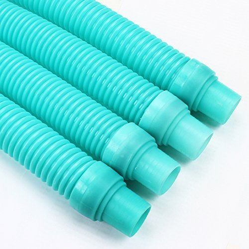 - XtremepowerUS 4 Pcs Pool Cleaner Hose - Turquoise Blue