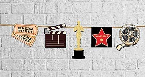 Movie Cinema Hollywood Party Garland -