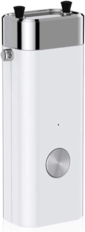 BAIAA Mini Purificador de Aire Portátil, Purificador e Ionizador de Aire Iónico Silencioso Protección contra el Moho del Polvo En El Aire Mascotas Fumadores (White)