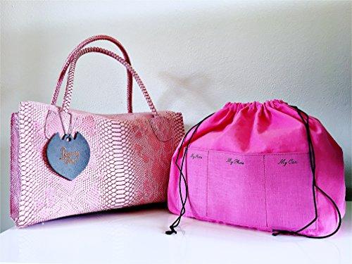 Modello Bag Calamita Kalì Tea Spalla Chiusura Bauletto Borsa Penny Con Blu A Marine Mano wZqa5REWx