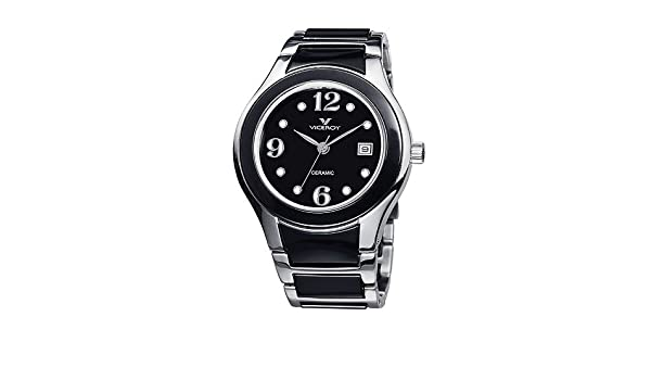 Amazon.com: Watch Viceroy Ceramica Y Zafiro 46648-55 Women´s Black: Watches