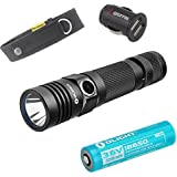 Olight S30R Baton II 1020 Lumens Flashlight Variable-Output Rechargeable Side-Switch Cree XM-L2 U3 LED Flashlight with Skyben High-Quality Holster & Car Charger + 1* Olight Rechargeable 18650 Battery (3200mAh)
