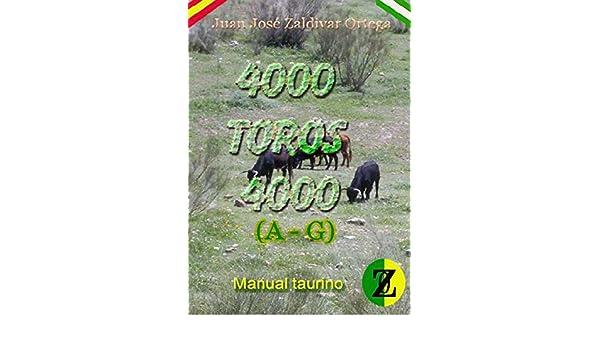 Amazon.com: Manual Taurino 4000 toros 4000 de la A a la G ...