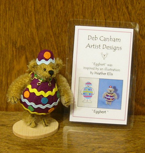 Deb Canham Artist Designs, EGGBERT, Limited Edition Mohair from 2007 Easter Collection
