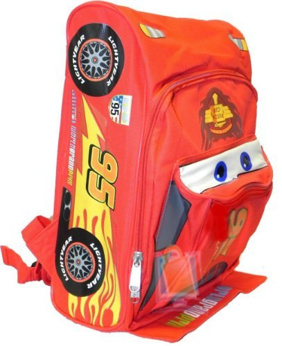 Cars Lightning Mcqueen Backpack - Disney Cars 12 Inch Toddler Backpack Mcqueen