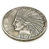 MarshLing Antique Liberty Indian Head Ten-Dollars