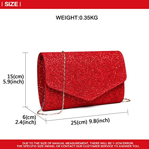Glitter Wedding Bag Lulu Party Ladies Evening Clutch Women Handbag 1801 Miss rd Prom Fashion qYHff