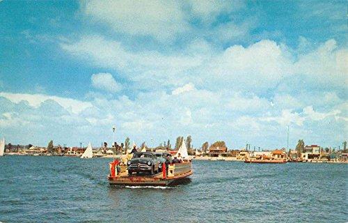 Balboa California Newport Harbor Ferry System Vintage Postcard K88592 (Balboa System)