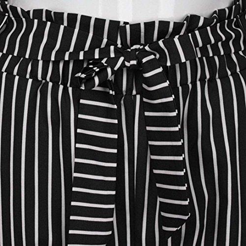 Grazioso Due Pantalone Tasche Sportivi Eleganti Moda Donna Primaverile Con High Monocromo Cintura Inclusa Dei Leggins Tempo Pantaloni Libero Nero Pantaloni Chino Autunno Giovane Pantaloni Waist x8wUTqqI