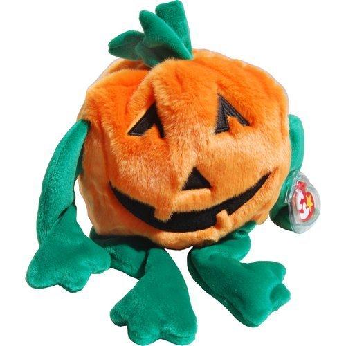 Pumkin the Jack O'Lantern Pumpkin - Ty Beanie