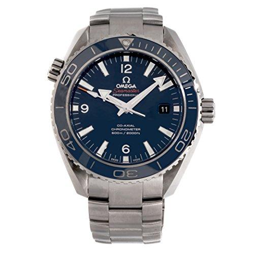 et Ocean 600m O23290462103001 Men's Automatic-Self-Wind 45.5MM Blue Dial Watch (Certified Pre-Owned) ()