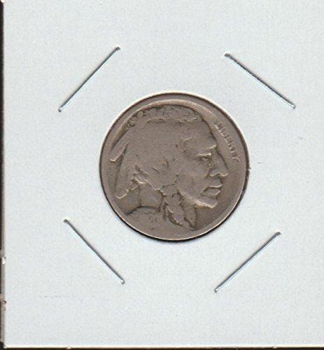 1920 D Indian Head or Buffalo (1913-1938) Nickel Very Good