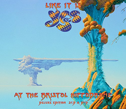 CD : Yes - Like It Is: Yes at the Bristol Hippodrome (With DVD, Deluxe Edition, 2 Disc)