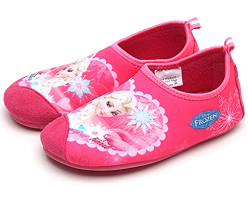 Disney Frozen Elsa Girls Indoor Slipper Pink Thermal Shoes (Runs Small) (Parallel Import/Generic Product) (11 M US Little Kid)
