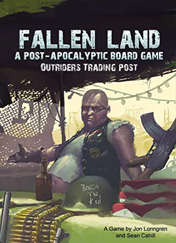 Outriders Trading Post Expansion for Fallen Land: A Post-Apocalyptic Board Game