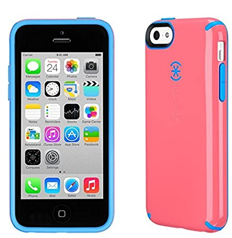 Speck Pink/Blue CandyShell for iPhone 5c - In Retail Packaging (Pink Iphone 5c Phone Case)