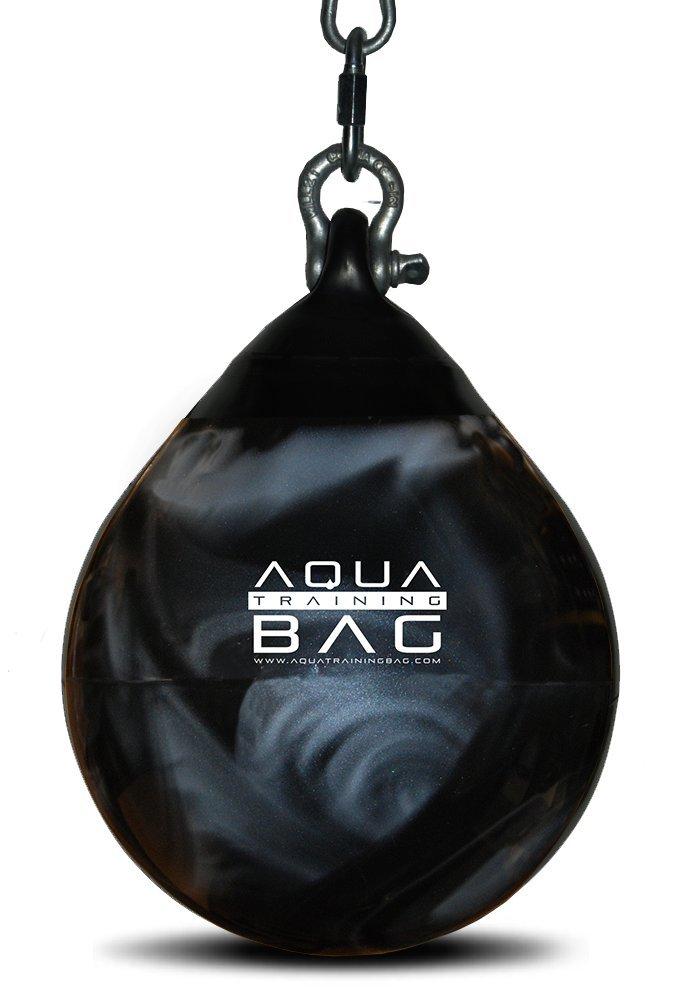 Aqua Training Bag Head Hunter Bag, 9 Inch, 15 Pound Speed Bag (Haymaker Black) by Aqua Training Bag