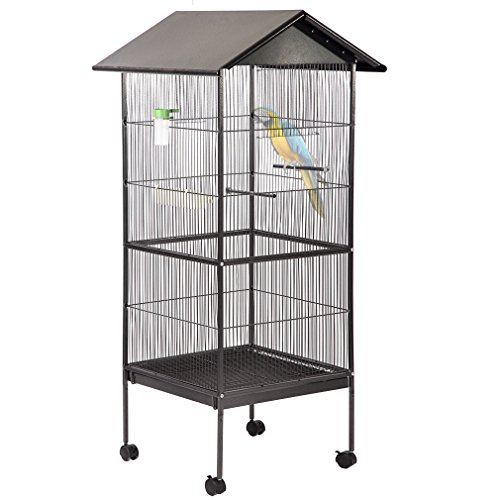 - BestPet Bird Cage Parrot Flight Cage 61