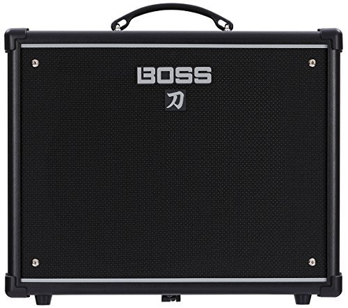 BOSS Katana KTN-50 50W 1x12 Guitar Combo Amplifier Black 761294509296