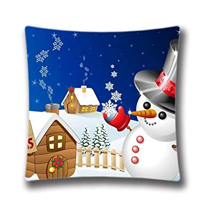 new home christmas decorative pillow case cute merry christmas backgrounds throw pillow cover happy new year