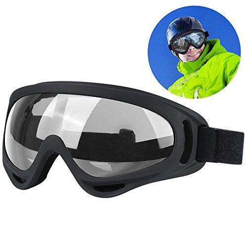 Snowboard Dustproof Sunglasses (Black) - 9