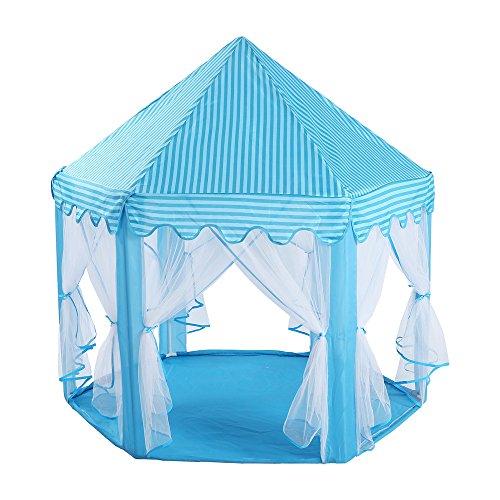 虐待アベニュー境界キッズテントおもちゃプリンスプレイハウス - 幼児プレイハウス城キッド子供のための女の子の赤ちゃん屋内&屋外のおもちゃのための折り畳み式プレイハウステント