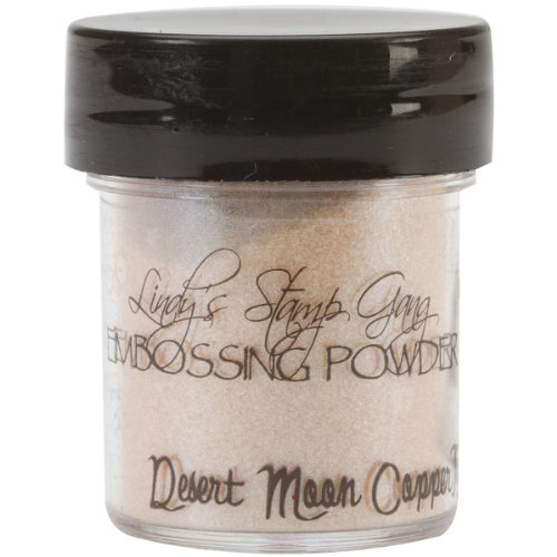 Lindy's Stamp Gang 2-Tone Embossing Powder, 0.5-Ounce, Desert Moon Copper Teal