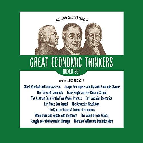 Great Economic Thinkers Series (Boxed Set) (Audio Classics) by Blackstone Audio