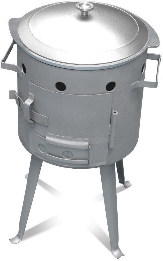 utschak, H: 56cm, diámetro: 32cm, para 7L Kasan/quemador Cocina, gulasch Fuego Hervidor Caldera Outdoor